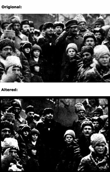 011 12 Fotografias Manipuladas mais Conhecidas da História
