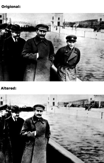 02 12 Fotografias Manipuladas mais Conhecidas da História