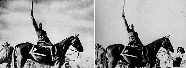 c16 12 Fotografias Manipuladas mais Conhecidas da História