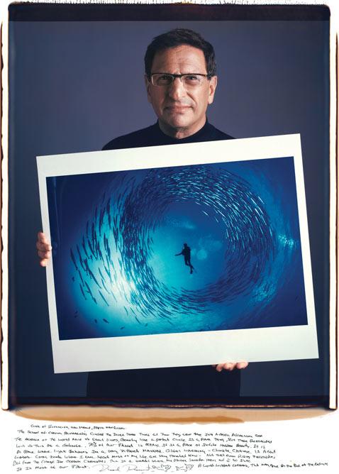 David Doubilet mantoani thg 120124 wblog Fotografos Famosos Posam com as suas Imagens