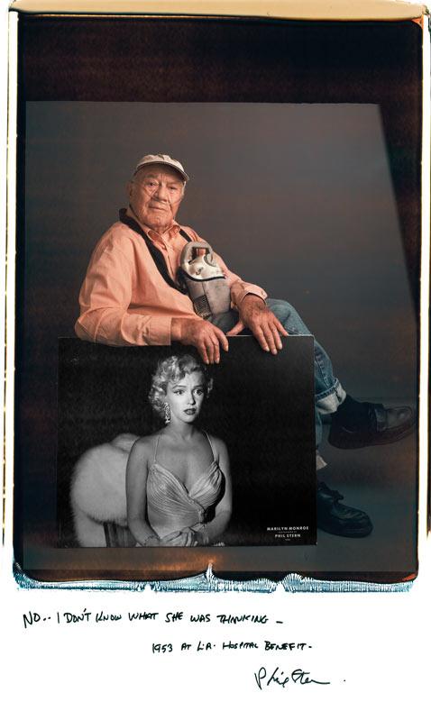 Phil Stern Marilyn mantoani thg 120124 wblog Fotografos Famosos Posam com as suas Imagens
