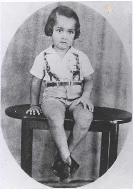 RCsitePA 40s A criança Roberto Carlos 0 40 Fotografias Históricas de Famosos em Criança