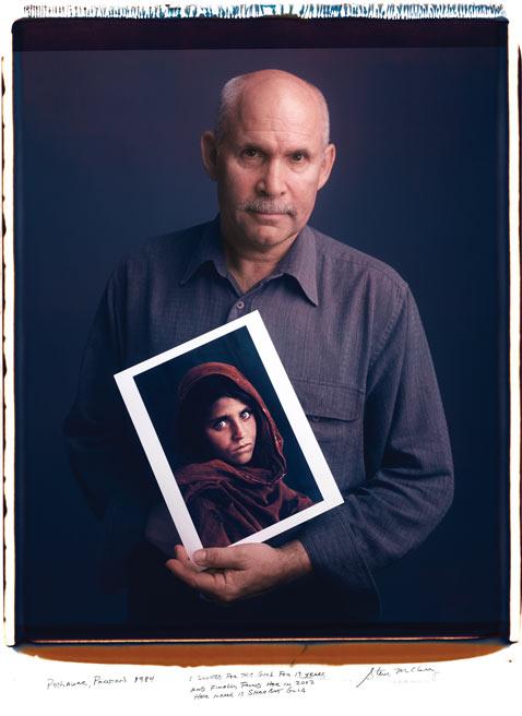 Steve McCurry NatGeoCover mantoani thg 120124 wblog Fotografos Famosos Posam com as suas Imagens