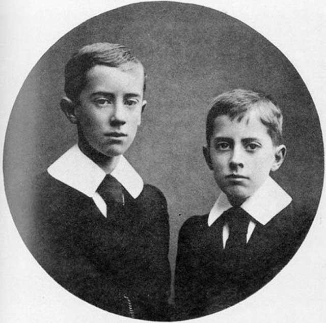 famosos quando criancas2 12 40 Fotografias Históricas de Famosos em Criança