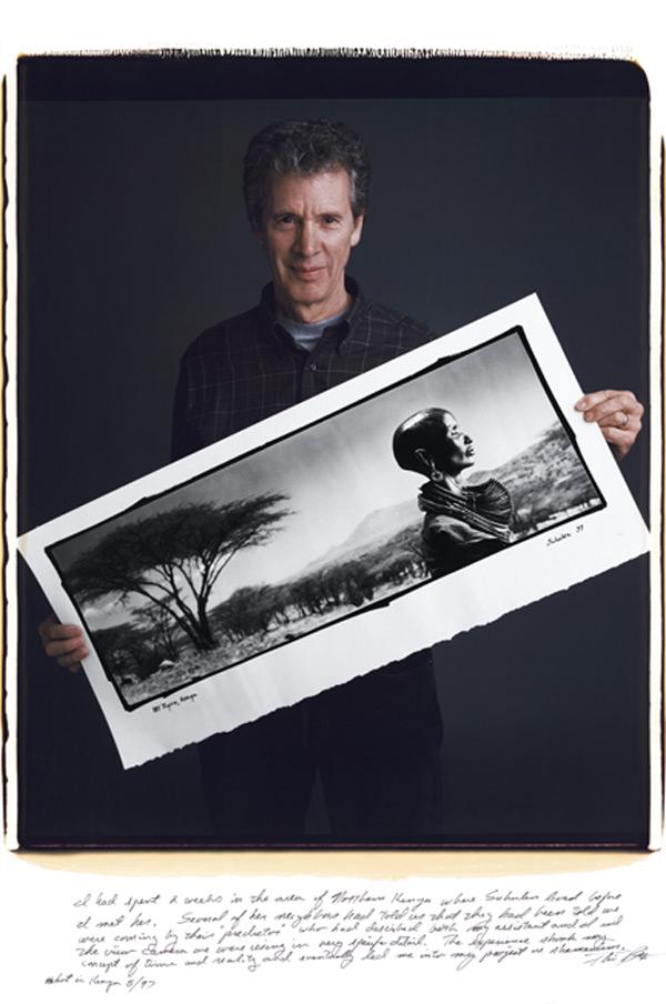 phil borges Fotografos Famosos Posam com as suas Imagens