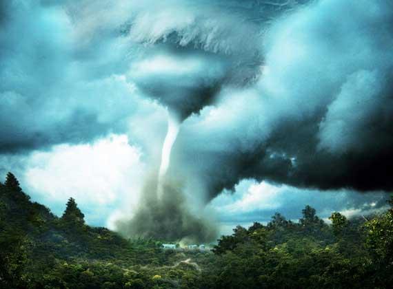 efeito tempestade e remoinho 35 Tutoriais de Manipulação Photoshop