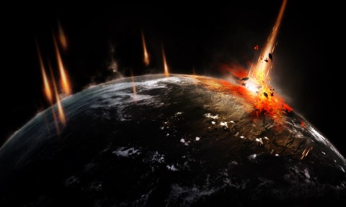 planet impact scene flatten 500x300meteoro 35 Tutoriais de Manipulação Photoshop