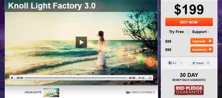 knolllightfactory 25 Melhores Plugins Photoshop para Fotografos