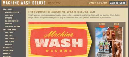 machine wash 25 Melhores Plugins Photoshop para Fotografos