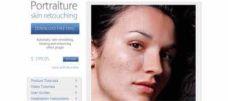 portraiture 25 Melhores Plugins Photoshop para Fotografos