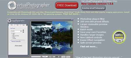 virtual photographer 25 Melhores Plugins Photoshop para Fotografos
