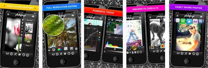 photoforge2 2 20 Melhores Apps de Fotografia para iPhone