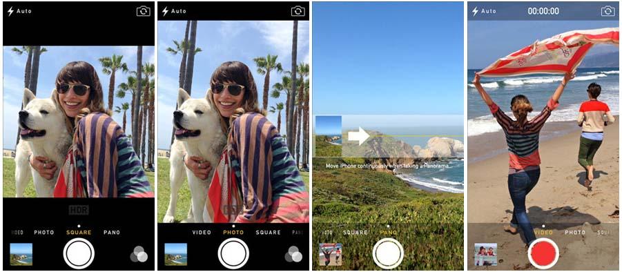ios7 photo 01 iOS7 traz novidades para a Fotografia