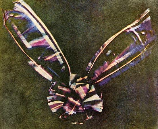 733px Tartan Ribbon As Primeiras Fotografias da História