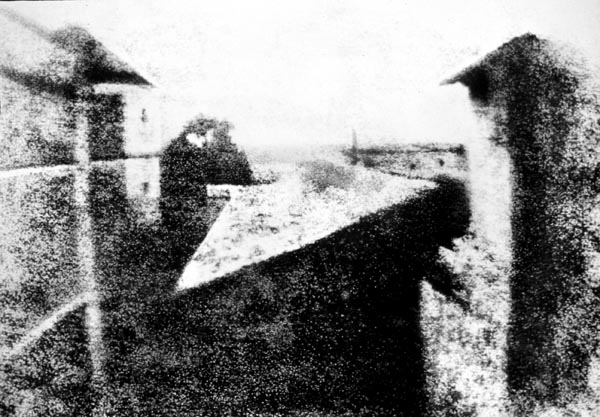 Joseph Nicéphore Niépce first photo world As Primeiras Fotografias da História
