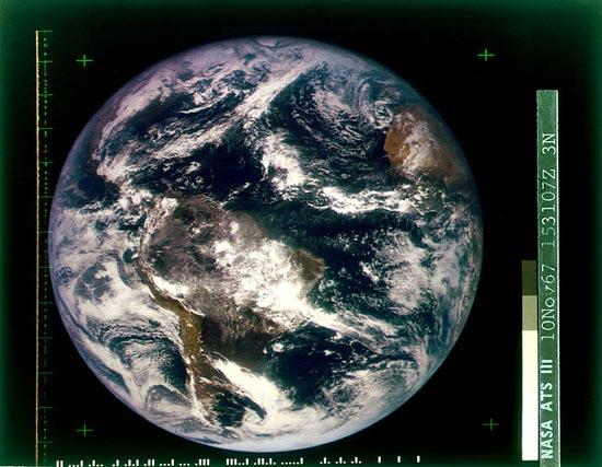 ATSIII 10NOV67 153107 As Primeiras Fotografias da História