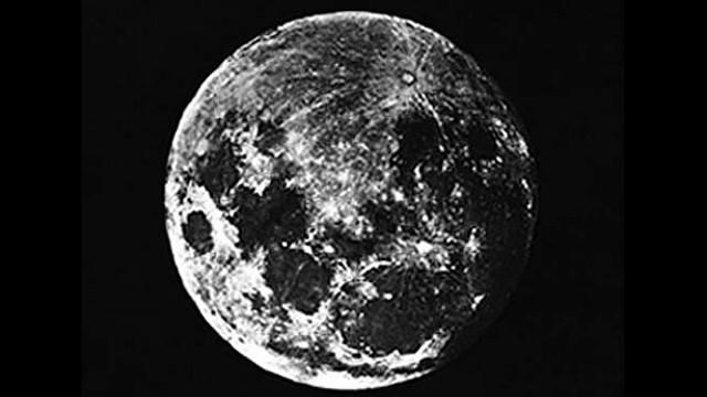 lua primeira fotografia As Primeiras Fotografias da História