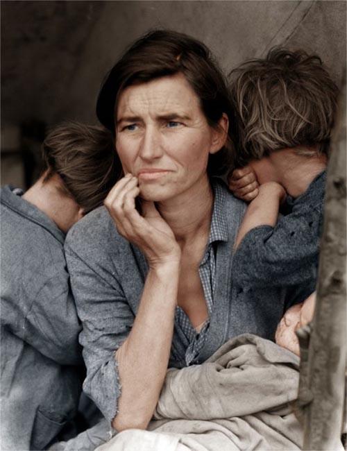 colorized mads 17 Fotografias Historicas ganham nova vida através da cor