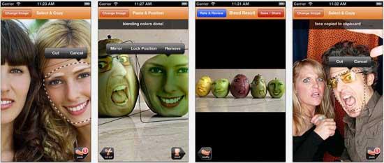 friend blender 17 apps iPhone para fazer Montagens nas suas Fotografias