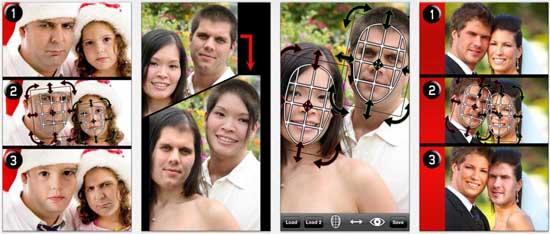 iswap faces 17 apps iPhone para fazer Montagens nas suas Fotografias