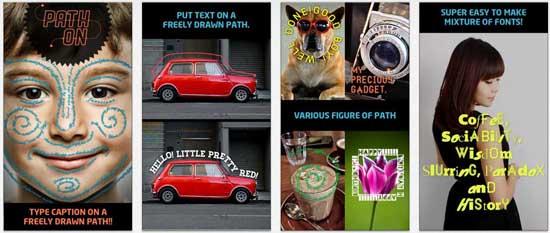 pathon 17 apps iPhone para fazer Montagens nas suas Fotografias