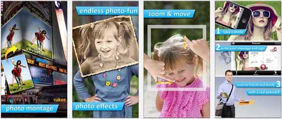 photo2fun hd 17 apps iPhone para fazer Montagens nas suas Fotografias