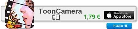 tooncamera  17 apps iPhone para fazer Montagens nas suas Fotografias