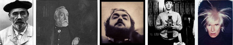 auto retratos famosos A Fotografia e a Moda das Selfies ou a evolução do Auto Retrato