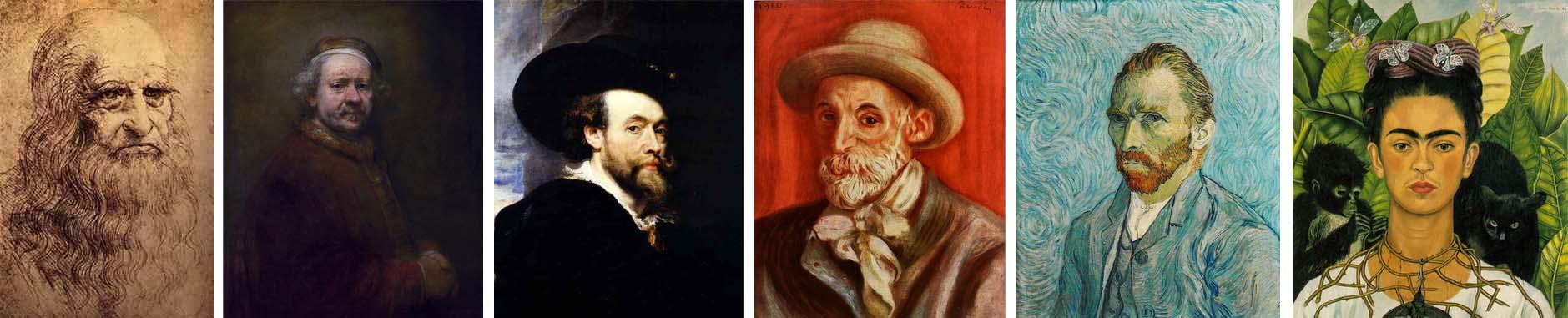 pintura auto retratos A Fotografia e a Moda das Selfies ou a evolução do Auto Retrato