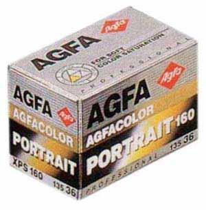 agfa portrait xps 160 25 Filmes Fotograficos Usados no Passado