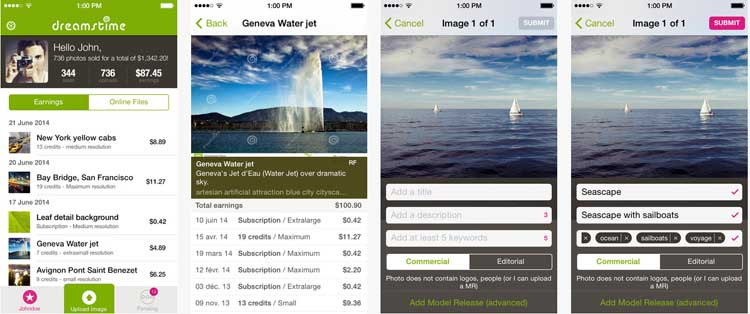 dreamstime smartphone app Ganhe Dinheiro Fotografando com seu Smartphone   Dreamstime