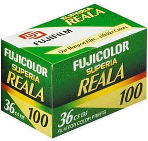 fuji superia reala 25 Filmes Fotograficos Usados no Passado