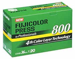 fujicolor press 800 25 Filmes Fotograficos Usados no Passado
