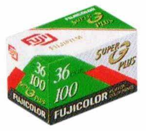 fujicolor super g 100 25 Filmes Fotograficos Usados no Passado