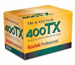 kodak TRI X 400 25 Filmes Fotograficos Usados no Passado