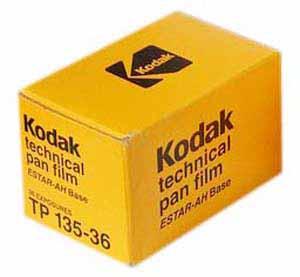 kodak technical pan 25 Filmes Fotograficos Usados no Passado
