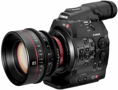 Canon eos C300 Canon celebra 80º Aniversario