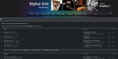 digital grin Os 20 Melhores Foruns de Fotografia