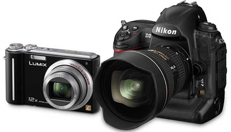 compactas vs slr 10 Conselhos Para Comprar Uma Câmara Fotográfica no Natal