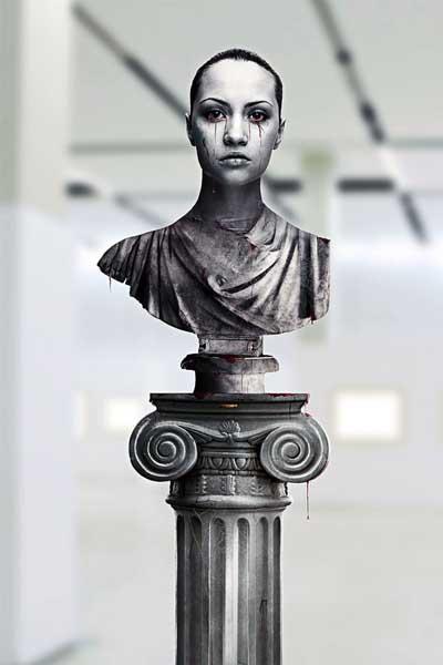 finalestatua grega